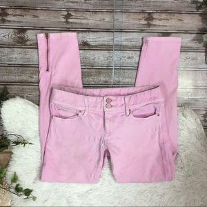 LILLY PULITZER Worth Skinny Mini Zip Pastel Pink 2